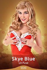 Skye Blue / Lit Fuse