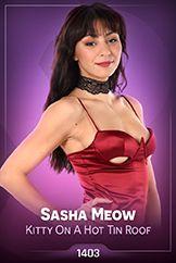Sasha Meow / Kitty On A Hot Tin Roof