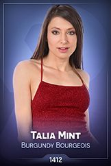 Talia Mint / Burgundy Bourgeois