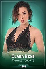 Clara Rene / Tightest Shorts