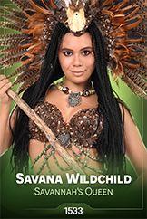 Savana Wildchild / Savannah's Queen