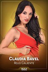 Claudia Bavel / Rojo Caliente