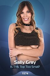 Sally Gray / Is This Top Too Small?
