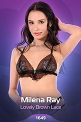 Milena Ray / Lovely Brown Lace
