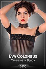 Eva Colombus / Cumming In Black
