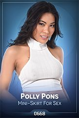 Polly Pons / Mini-Skirt For Sex
