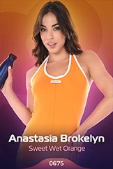 Anastasia Brokelyn / Sweet Wet Orange