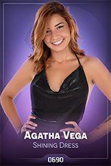 Agatha Vega / Shining Dress